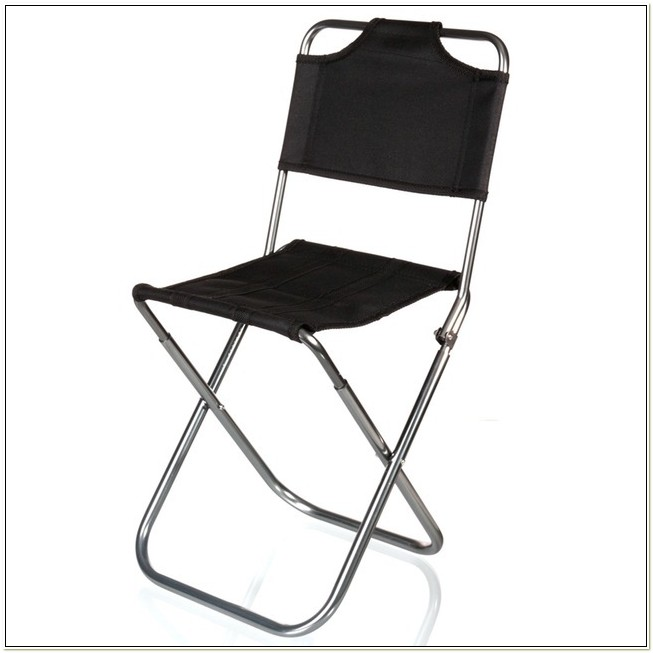 Central Park Products Black Folding Chair