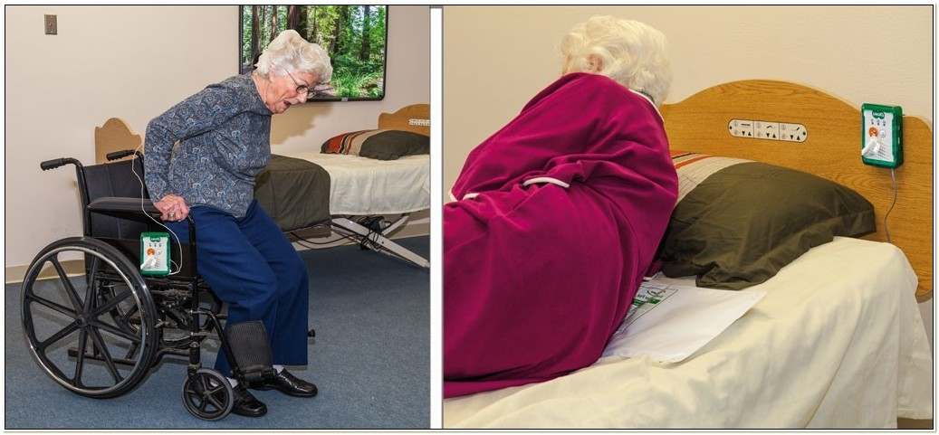Chair Alarms Fall Prevention