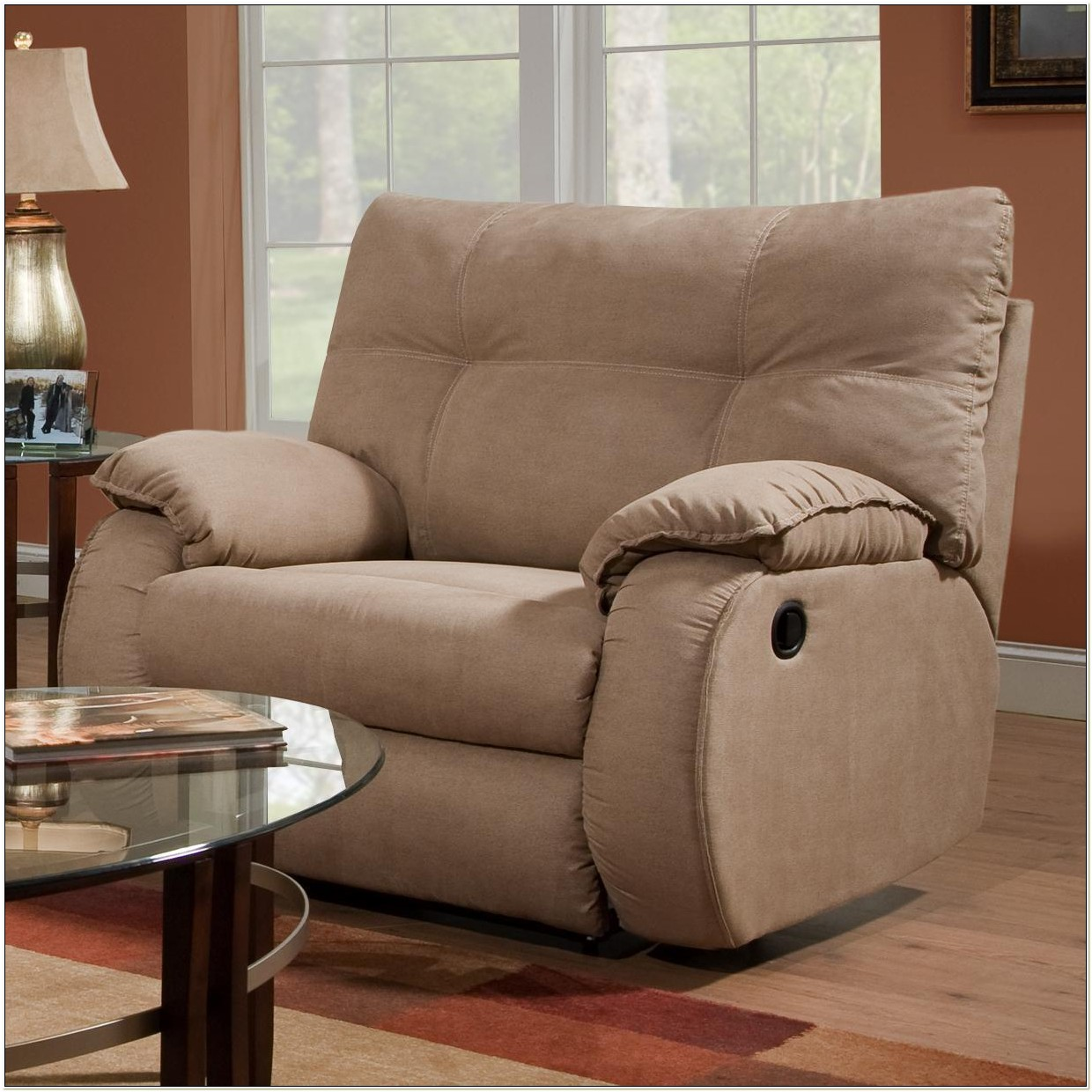 Chair And A Half Glider Recliner