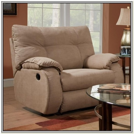 Chair And A Half Recliner Rocker