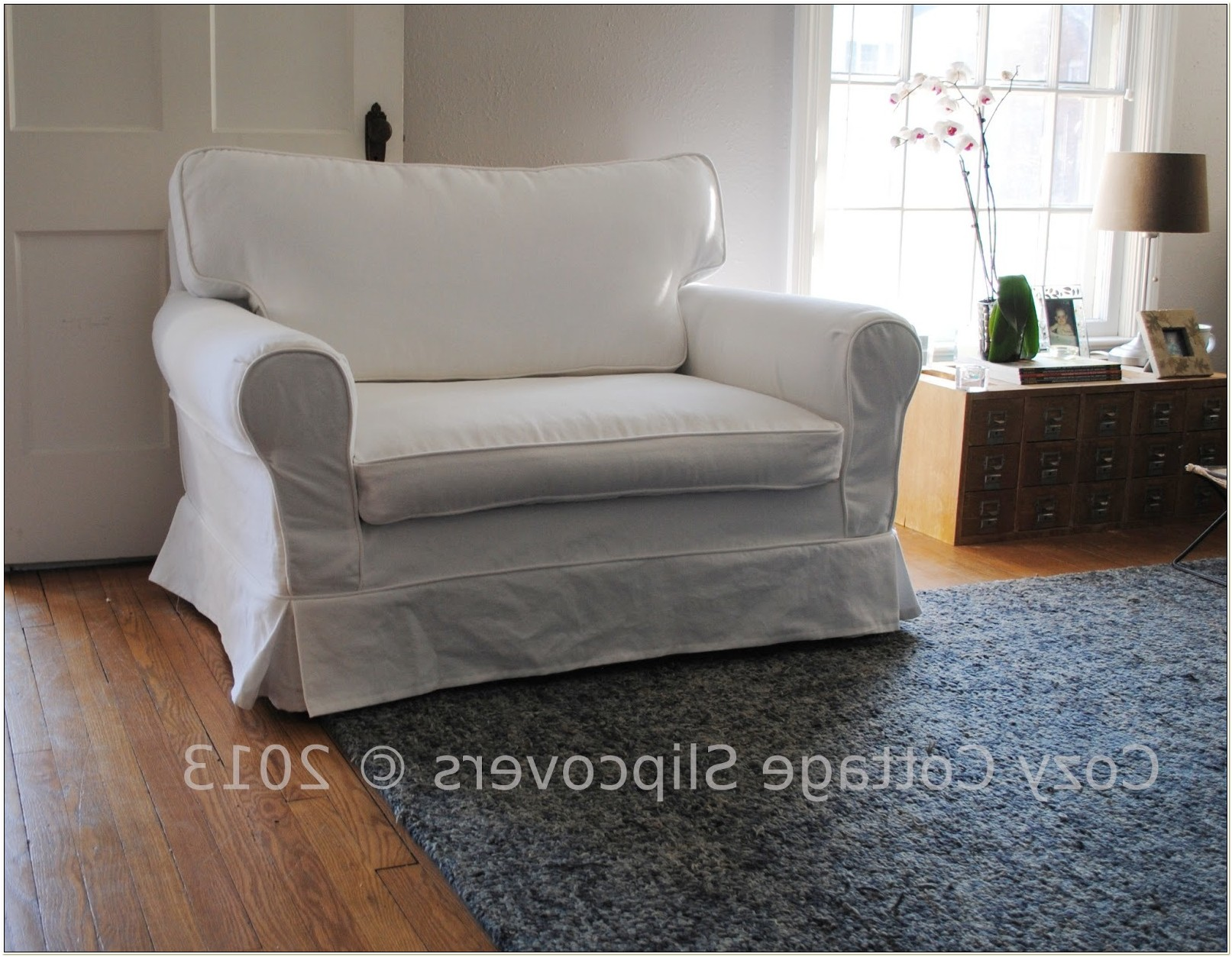 Chair And Half Slipcover