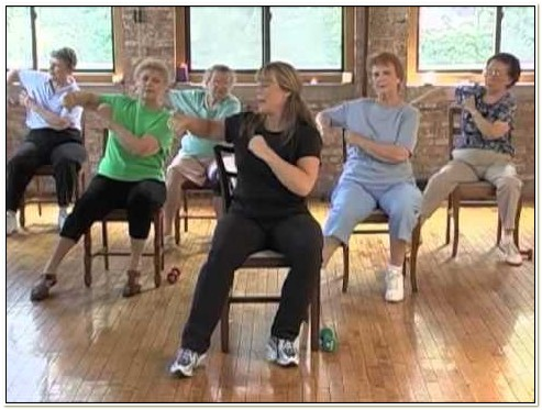 Chair Exercise For Seniors Video