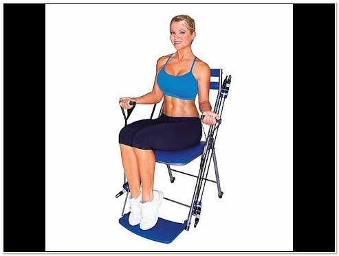 Chair Gym Exercise With Twister Seat