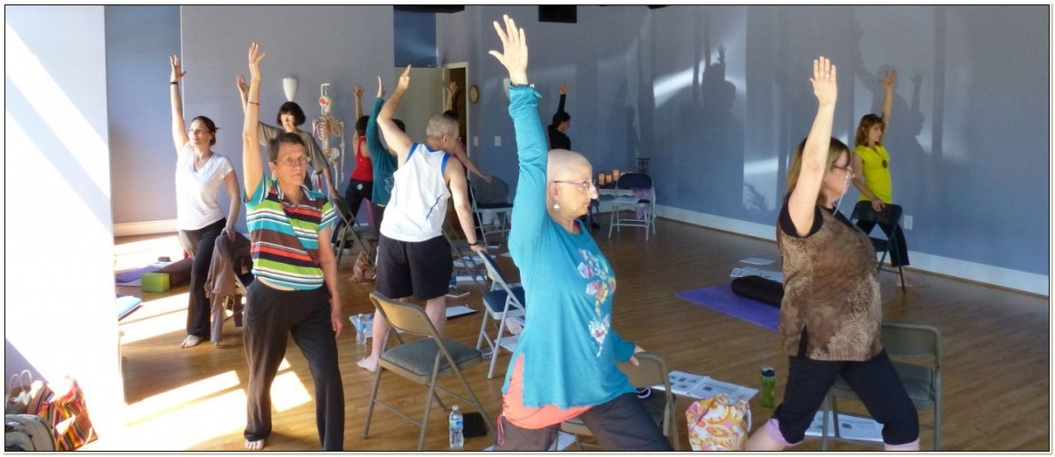 Chair Yoga Teacher Training Ontario