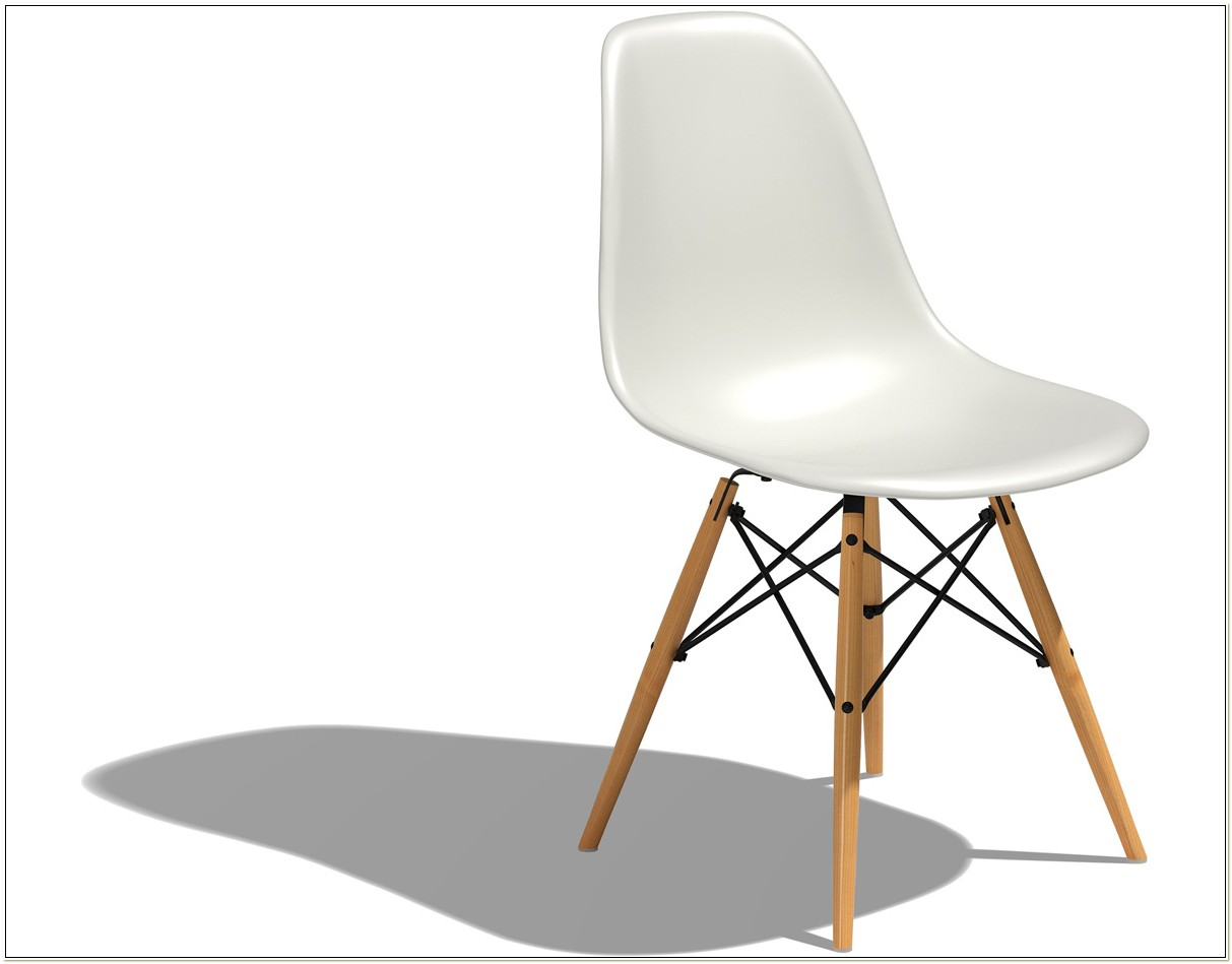 Charles And Ray Eames Molded Plastic Chair