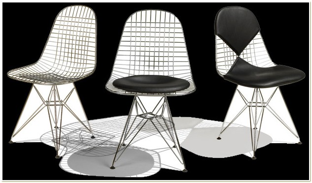 Charles And Ray Eames Wire Mesh Chair