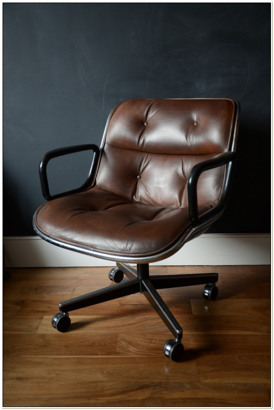 Charles Pollock Executive Chair Vintage