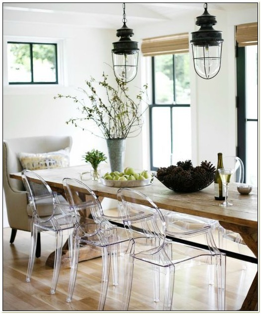 Cheap Clear Acrylic Dining Chairs
