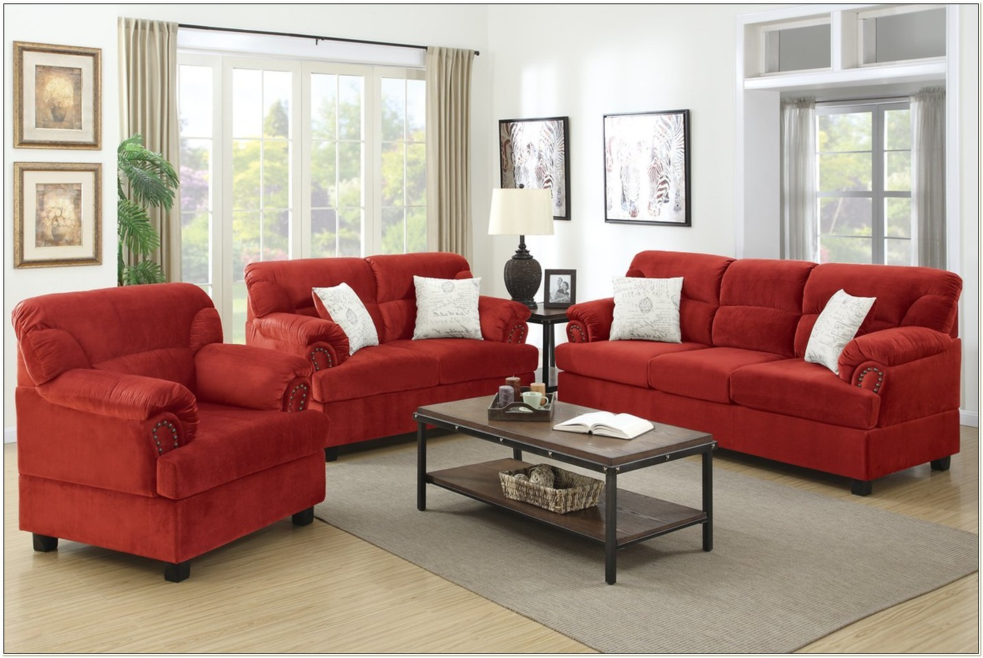 Cheap Loveseat And Chair Set