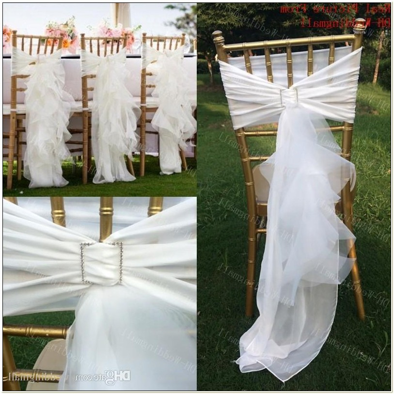 Cheap Sashes For Chair Covers