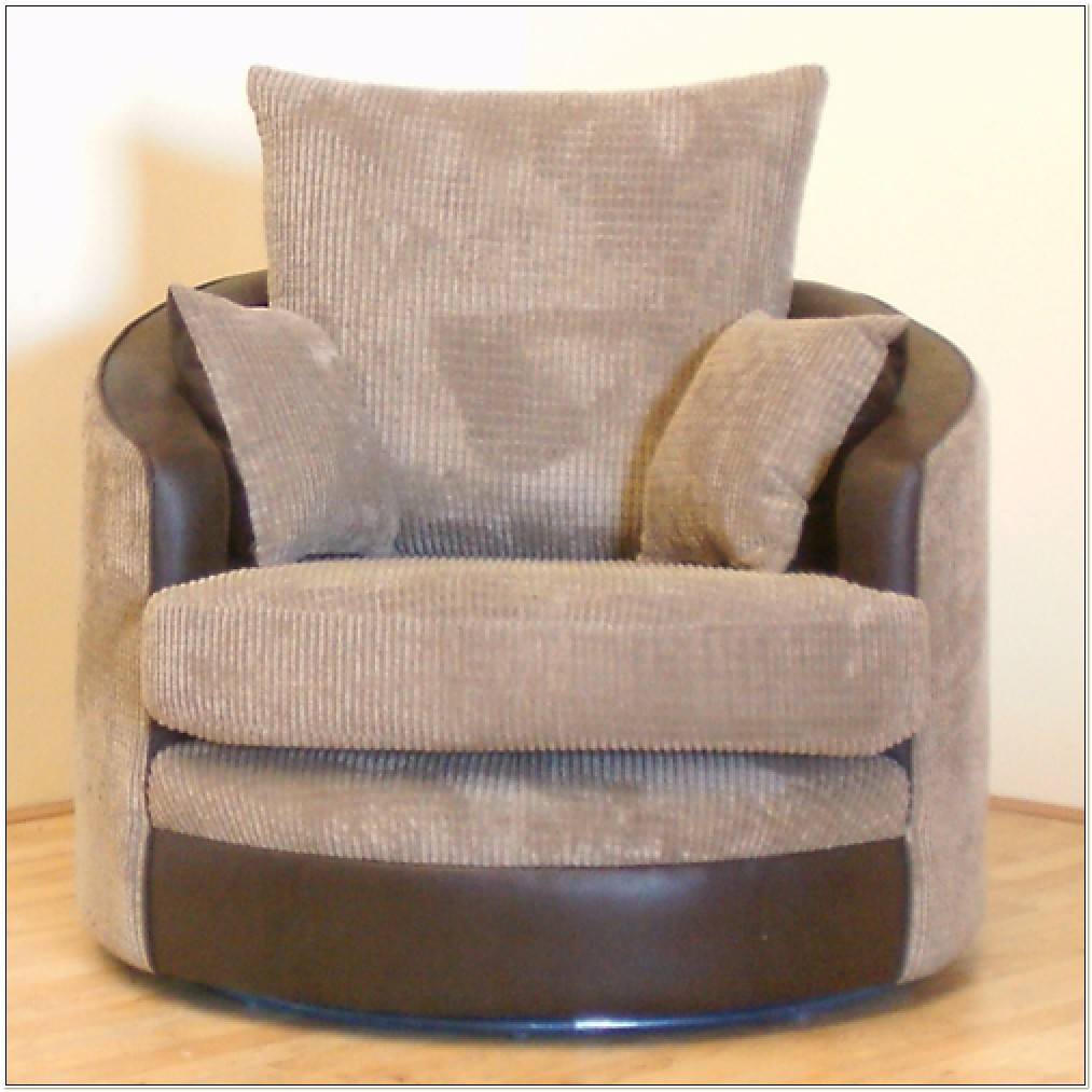 Cheap Swivel Cuddle Chair