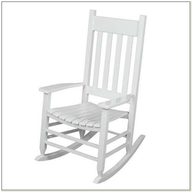 Cheap White Wooden Rocking Chair