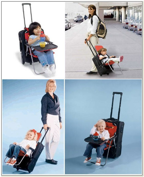 Child Seat That Attaches To Chair