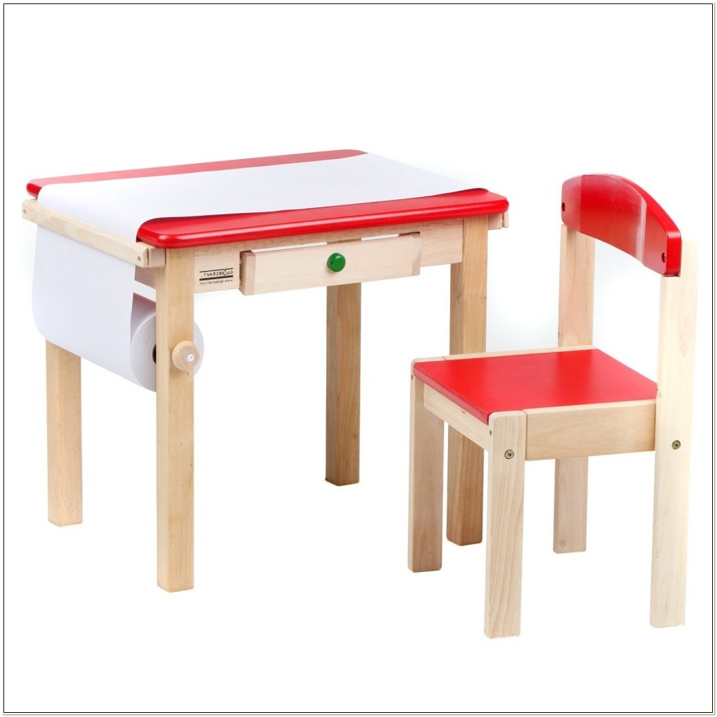 Child Size Folding Table And Chairs Set