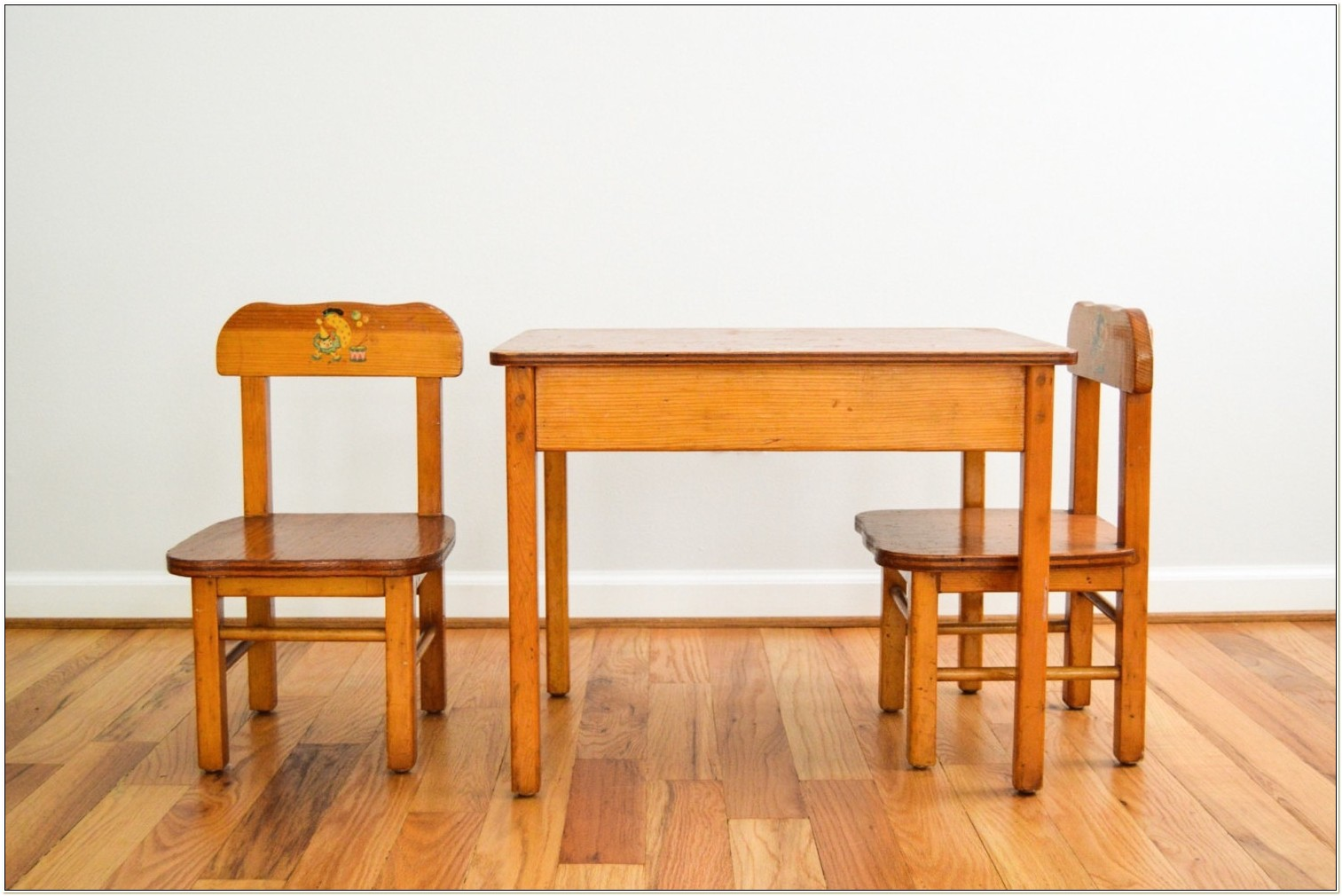 Child Size Wood Table And Chairs