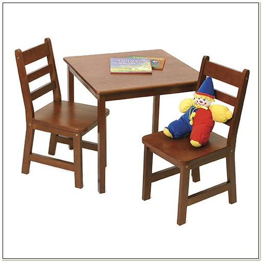Childrens Cherry Wood Table And Chairs