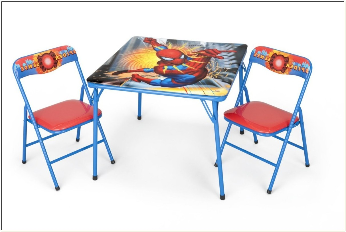 Childrens Folding Table And Chairs Collection