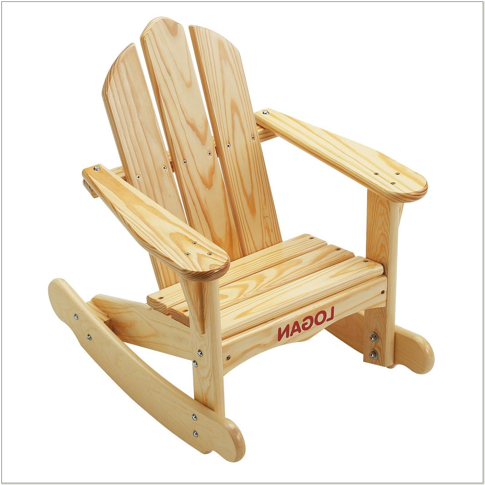Childs Adirondack Rocking Chair Plans