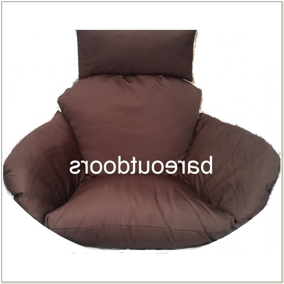 Chocolate Brown Outdoor Chair Cushions
