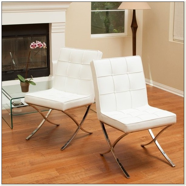 Christopher Knight White Dining Chairs