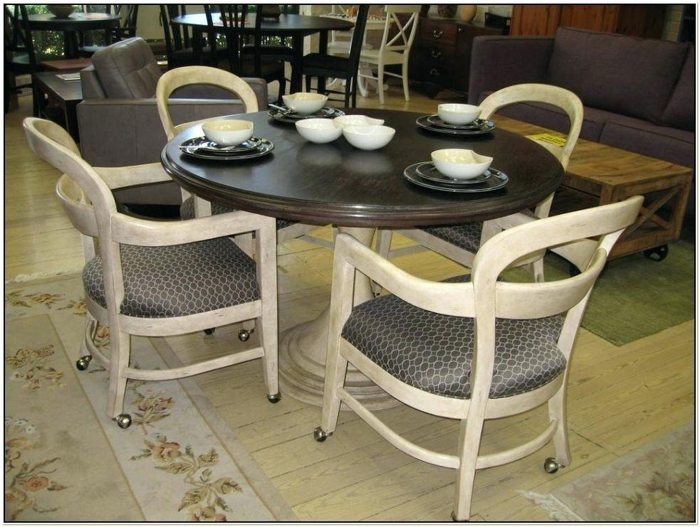 Chromcraft C51 788 Swivel Tilt Caster Chairs