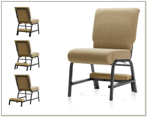 Church Seating With Kneelers