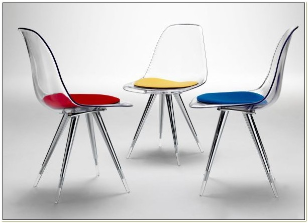 Clear Perspex Dining Chairs