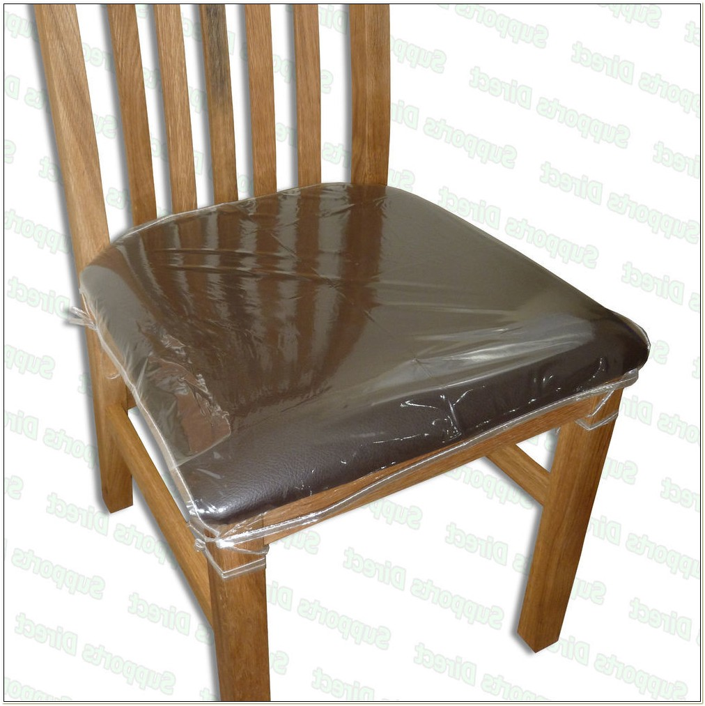 Clear Plastic Dining Room Chair Seat Covers