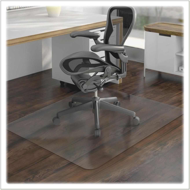 Clear Plastic Office Chair Mat