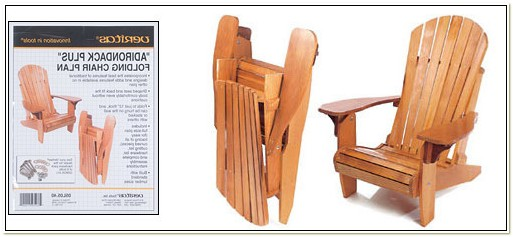 Collapsible Adirondack Chair Plans