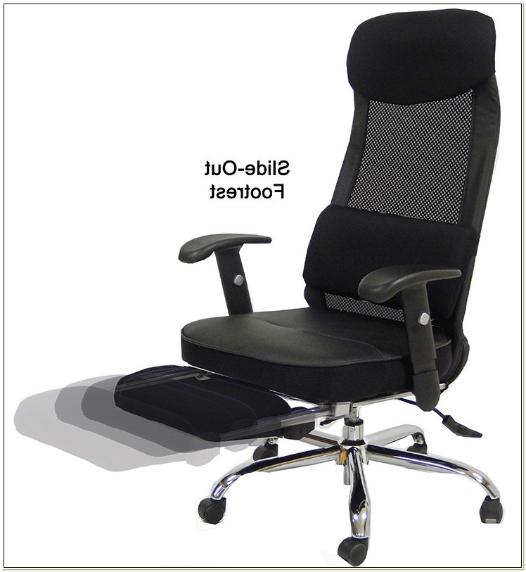 Computer Chair With Footrest