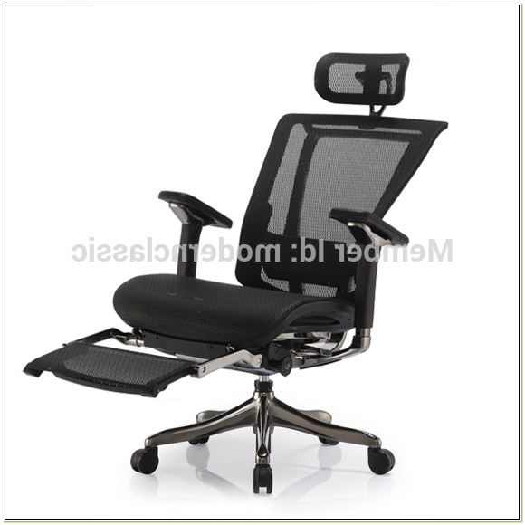 Computer Chair With Leg Rest