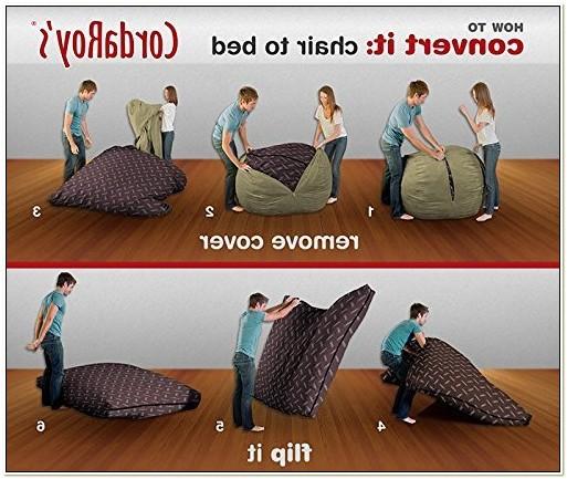 Cordaroys Convertible Bean Bag Chair