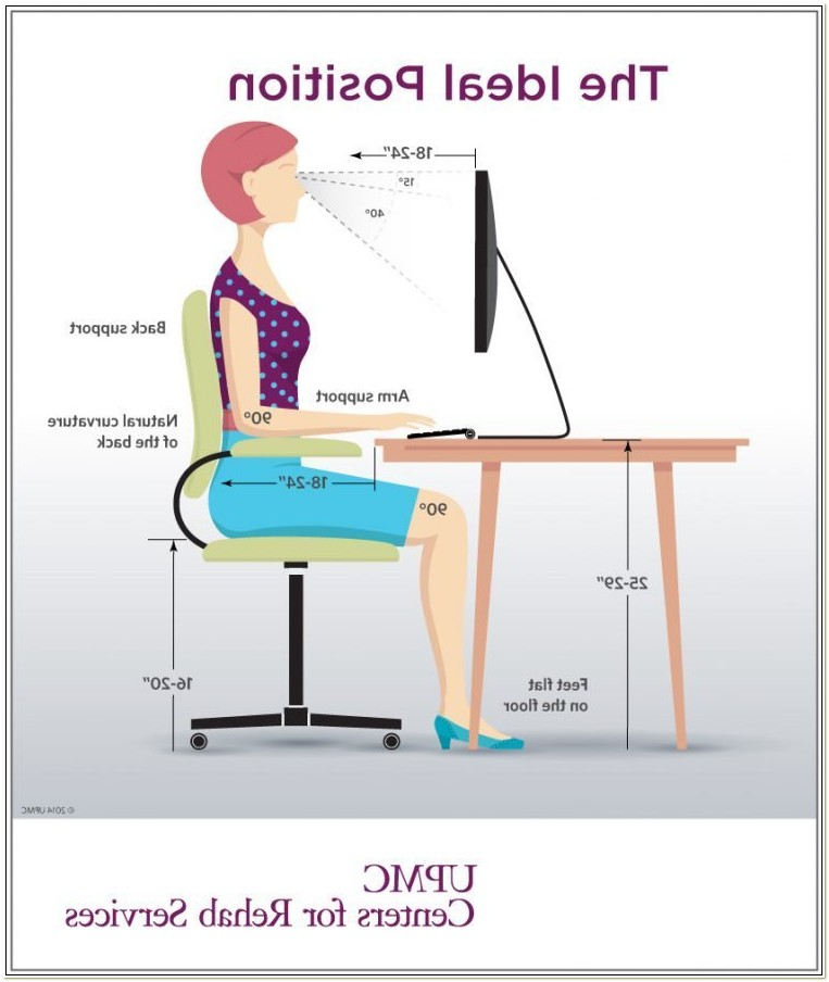 Correct Posture Sitting Office Chair