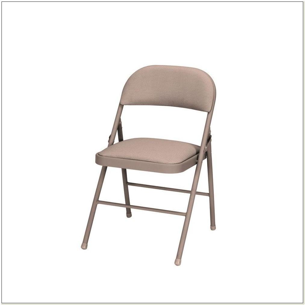 Cosco Fabric Padded Folding Chairs