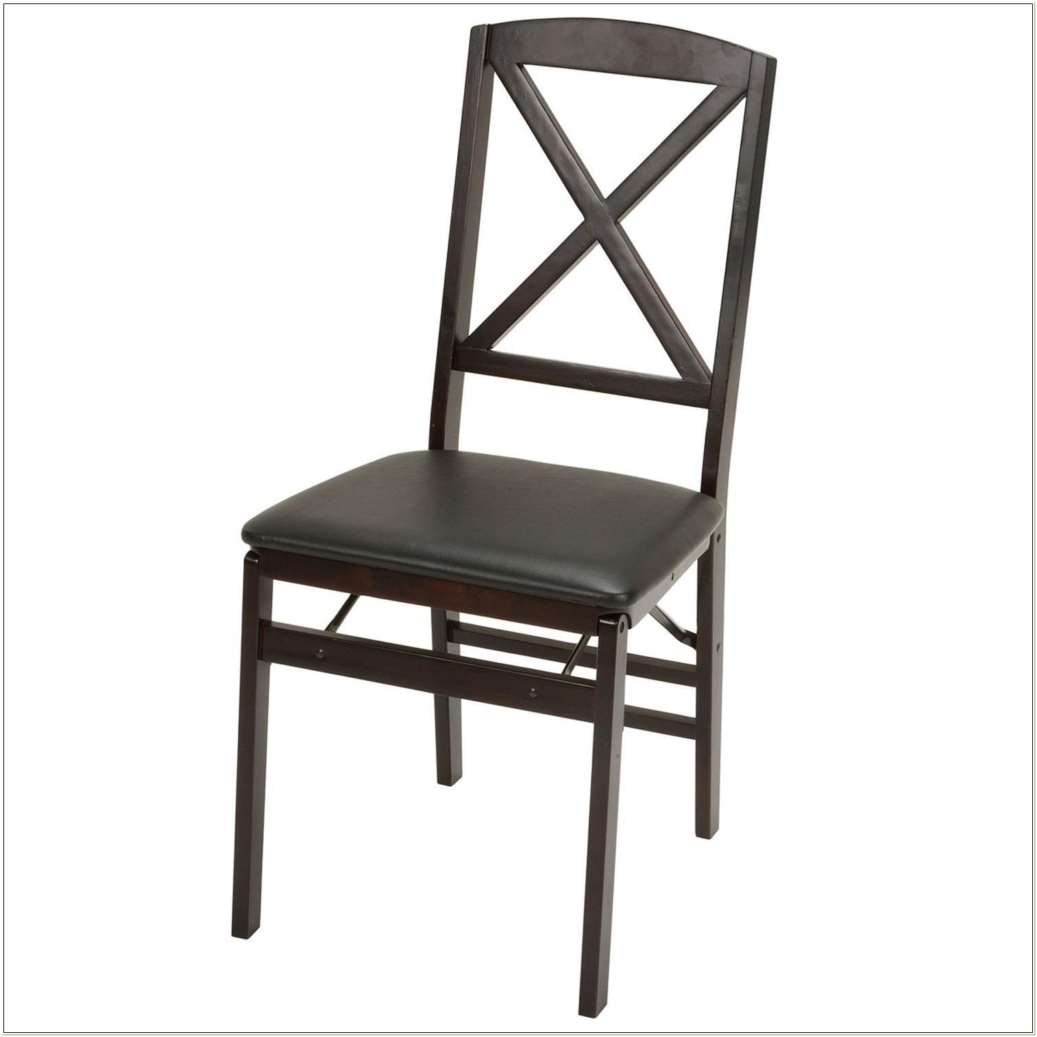 Cosco Wood Folding Chair With X Back