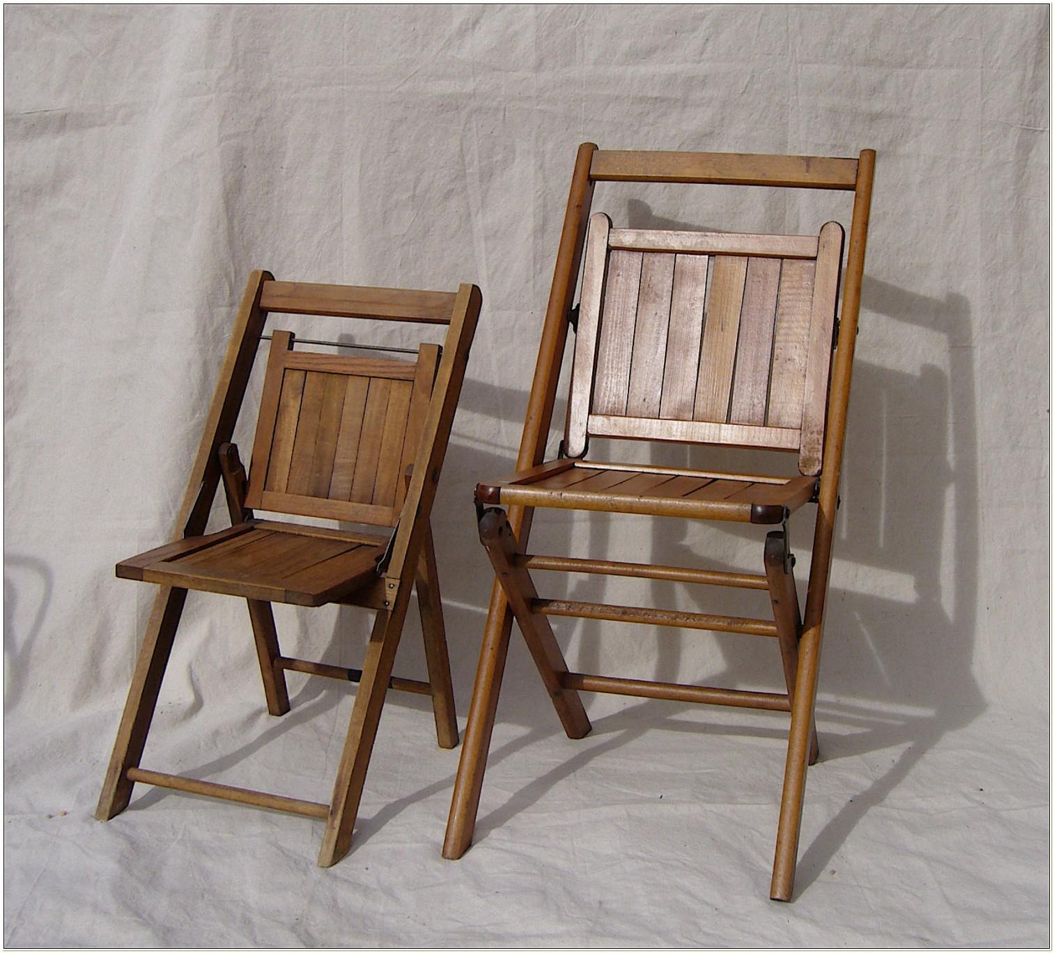Cosco Wood Slat Folding Chair