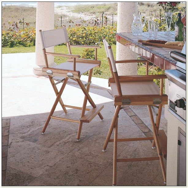 Counter Height Directors Chairs