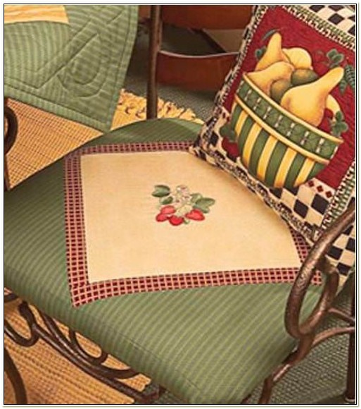 Country Kitchen Chair Pads