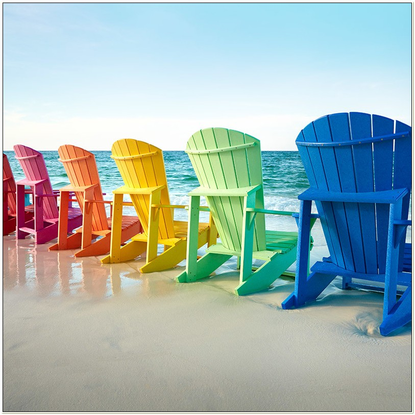 Cr Plastic Products Adirondack Chairs