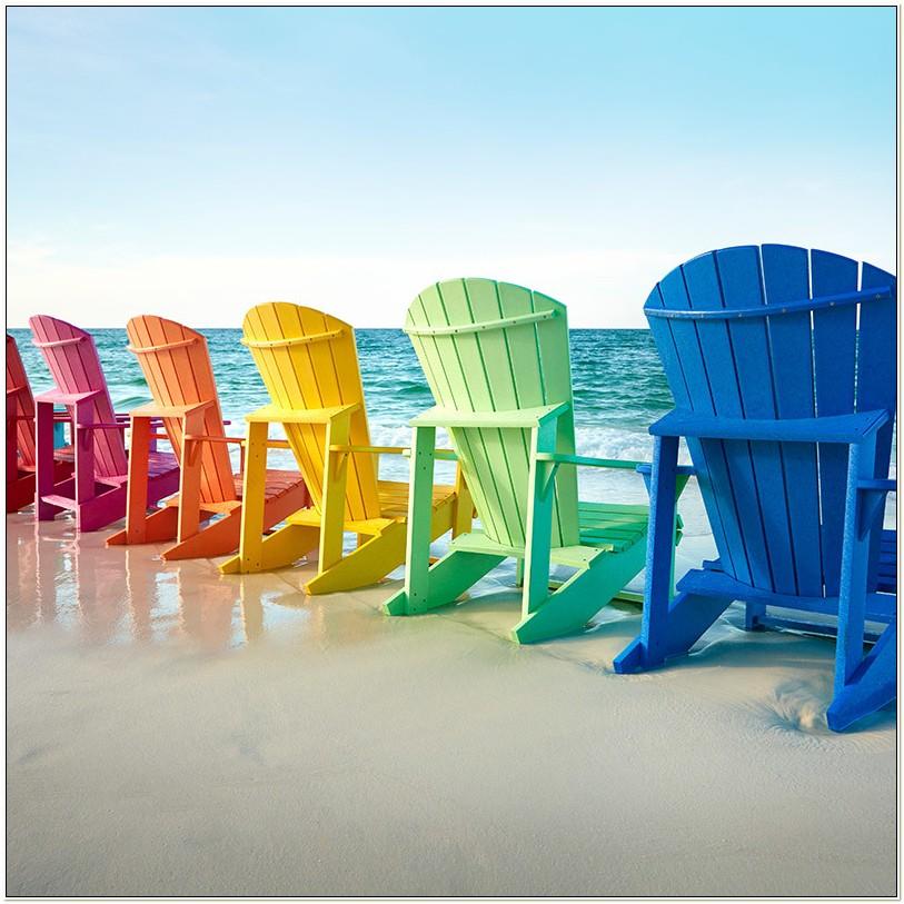 Cr Plastics Adirondack Chairs