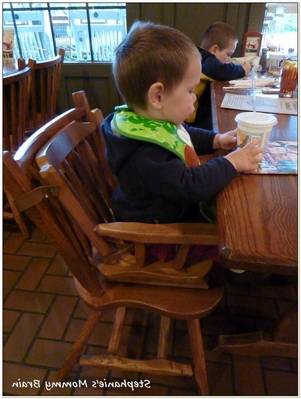 Cracker Barrel Baby High Chair