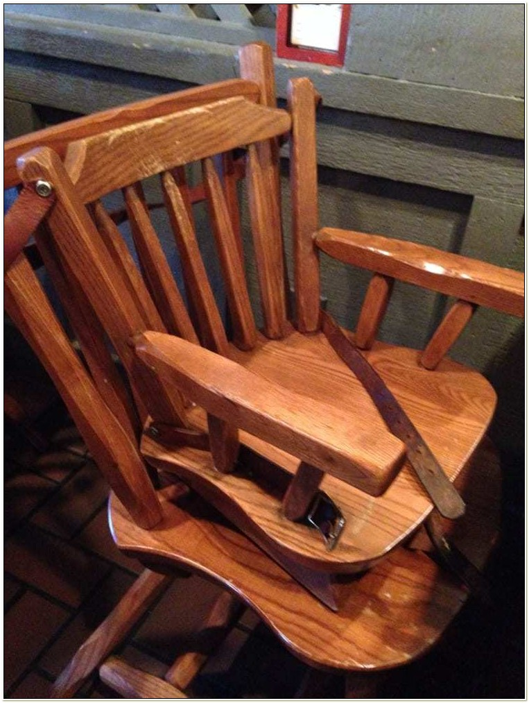 Cracker Barrel High Chair