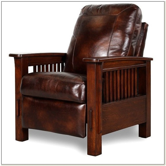 Craftsman Recliner Chair Mission Style