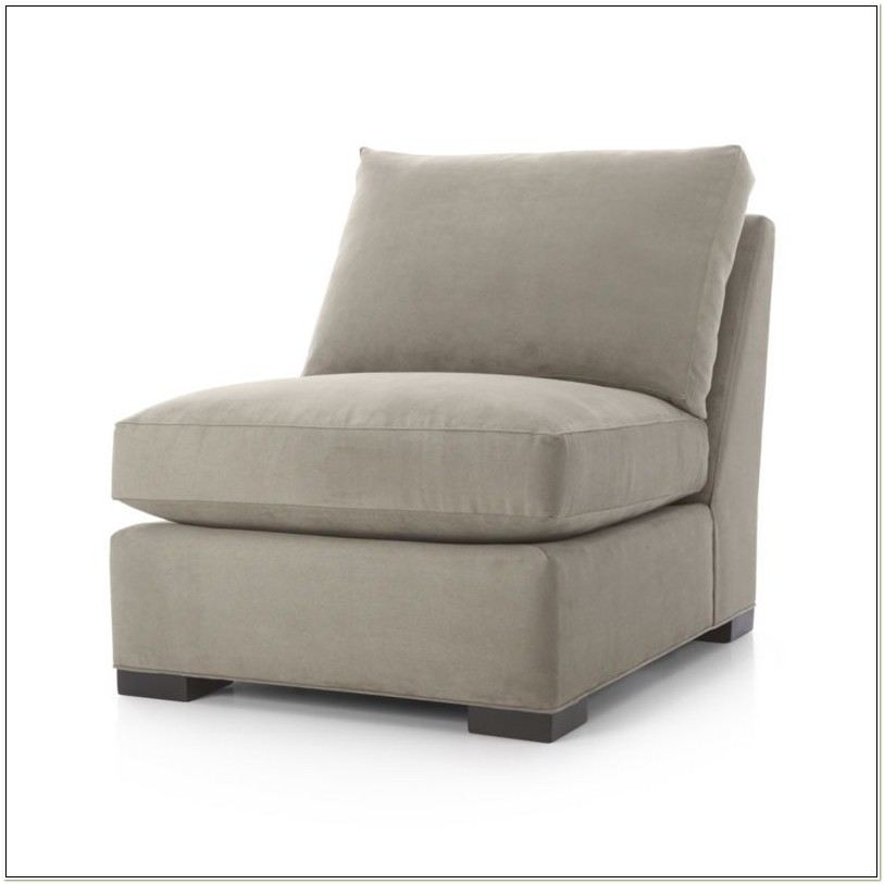 Crate And Barrel Axis Armless Chair