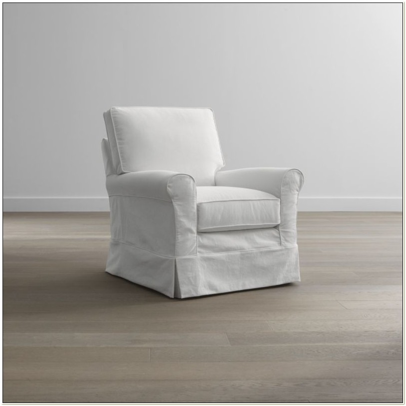 Crate And Barrel Swivel Glider Chair