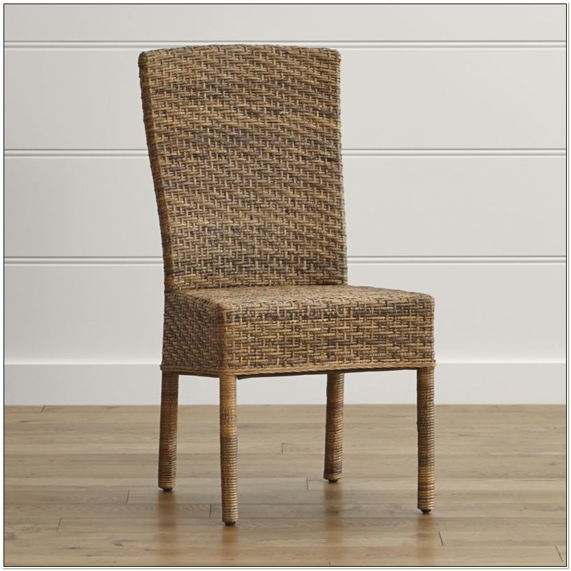 Crate And Barrel Wicker Chairs