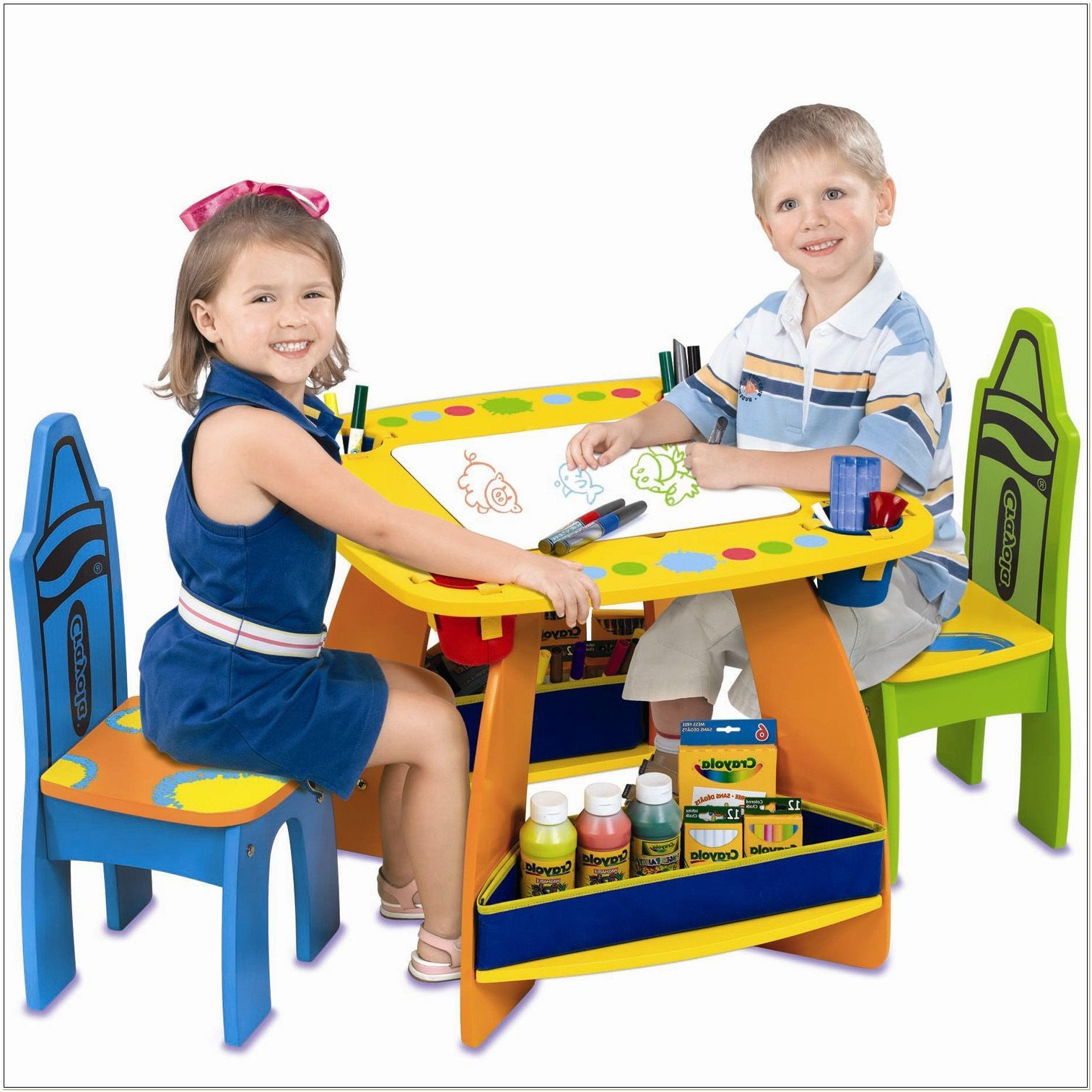Crayola Wooden Table And Chair Set Canada