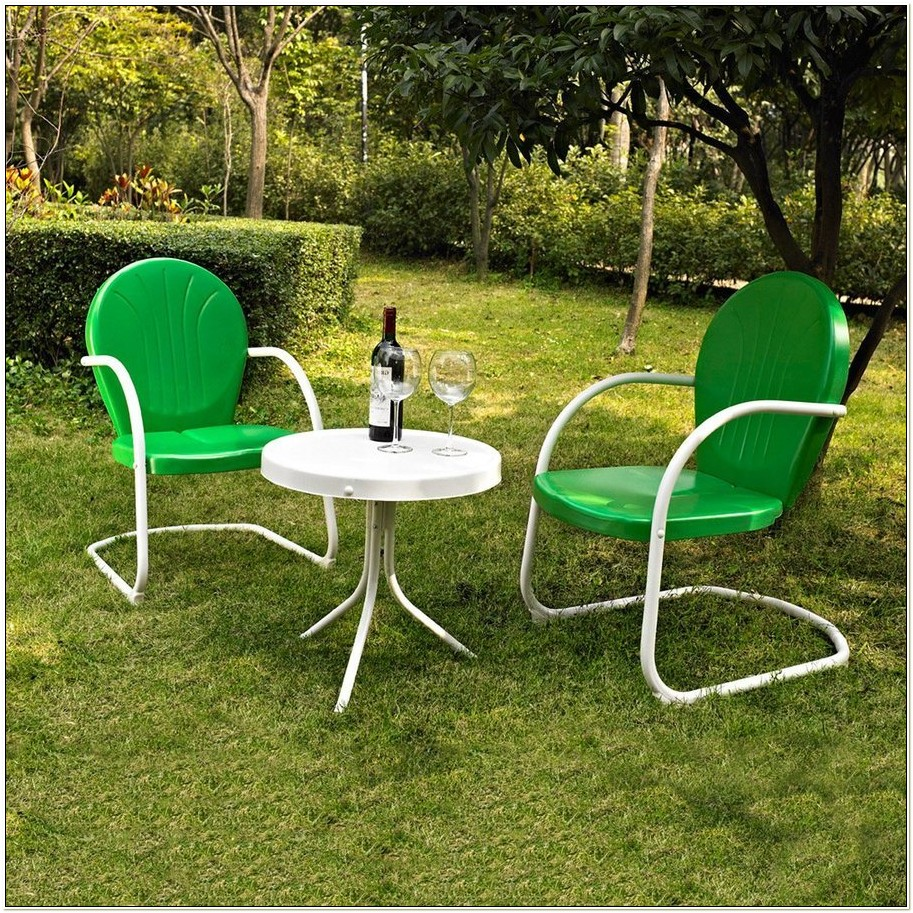 Crosley Furniture Griffith Steel Patio Chair