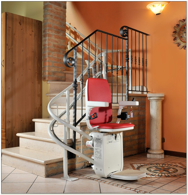 Curved Stairlifts For The Elderly